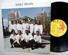 NINJA BAND The MAESTROS Ninja A Train LP Reggae Dance Hall