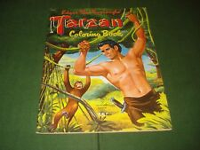 1952 TARZAN COLORING BOOK, NICE SHAPE.