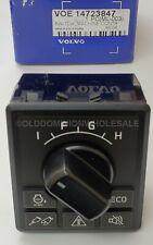 NEW OEM Genuine Volvo 14723847 Machine Control Keypad Switch