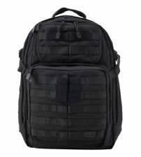 5.11 TACTICAL. GENUINE RUSH 24 BLACK BACK PACK...