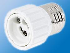 Lampen Adapter E27 auf GU10 | Weiß | Fassung | Sockel | Konverter |Lampenfassung