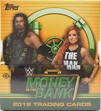 2019 TOPPS WWE MONEY IN THE BANK WRESTLING HOBBY BOX - 3 AUTOS GUARANTEED / BOX