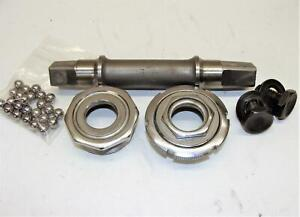 ~ Nice Used Stronglight Competition 118 Square Taper French Bottom Bracket ~