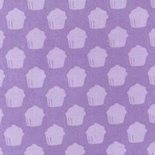 BY YARD-Baked with Love Cupcake Valentine Fabric Robert Kaufman 14420-6 Purple