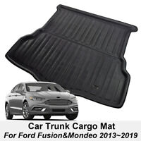 Fit For 2015-2019 Ford Mondeo Boot Mat Rear Trunk Liner Cargo Floor Tray Carpet