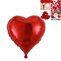 "1pcs 22"" Red Heart Foil Helium Balloons Valentines Wedding Engagement Decoration"