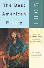 The Best American Poetry 2001 Robert Hass Paperback