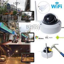 HD 720P Wireless WIFI IP Camera Vandal Proof Home-Security CCTV IR Night Vision