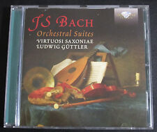 JS BACH ORCHESTRAL SUITES VIRTUOSI SAXONIAE LUDWIG GUTTLER