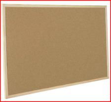 Bi-Office MC070012010 Cork Board Budget, Wood Frame, 90 x 60 cm