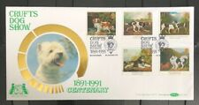 GB FDC Benham 1981 Crufts Dog Show With Special H/S