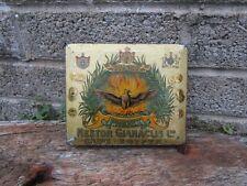 More details for rare antique cigarette tin - phenix - nestor gianaclis - egypt - advertising