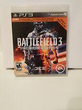 Battlefield 3: Premium Edition (Sony PlayStation 3, 2012) en buen PS3 Usado