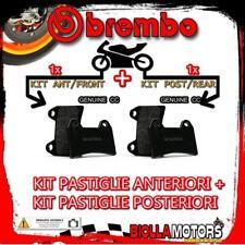 BRPADS-51133 KIT PASTIGLIE FRENO BREMBO APRILIA SCARABEO 1998-2001 50CC [GENUINE