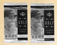 2001 Upper Deck Cleveland National Convention Golf Promo Pack SCARCE!