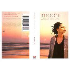 K7 Cassette Tape EUROVISION 1998 UK : ImaaniWhere are you 3 Tracks SINGLE