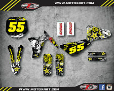 Metrakit MKX 50 Full custom sticker Kit GRAFFITI STYLE decals