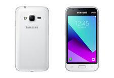 Brand NEW SAMSUNG GALAXY J1 MINI primo Dual SIM * 2016 * 8GB Smartphone Bianco