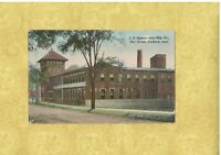 CT Guilford 1908-29 antique postcard SPENCER SONS MFG CO FAIR ST CONN