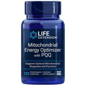 Mitochondrial Energy Optimizer with PQQ R-Lipoic Acid 150mg 120 Caps Life Exten
