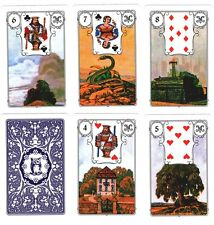 Oracle Card Deck Mlle Marie Anne Lenormand Fortune Telling Cards 36 Tarot Cards