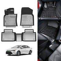 For Toyota Camry 2017 2018 2019 2020 Car Floor Mats Durable 3pcs