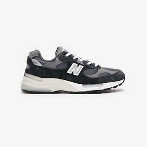 Men's New Balance 992 Made in USA Navy Gray M992GG Sneakers Brand New