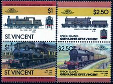 LANCASHIRE & YORKSHIRE RAILWAY (L&YR Lanky / LMS) Collection 4 x GB Train Stamps