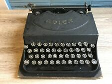 Vintage Typewriter Adler 2 Antique Klein Portable 1929 30 Germany Hard Case