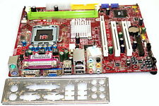MSI MS-7387 VER:1.0 PCI / PCIE SOCKET 775 MOTHERBOARD P4M900M3 W/ I/O SHIELD!!