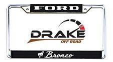 Ford Bronco License Plate Frame