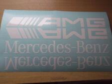 MERCEDES BENZ AMG A B C E CLASS STICKER / DECAL