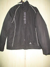 "mens ADIDAS BLACK THICK WINTER WARM WATERPROOF COAT SIZE 42/44"" CHEST"
