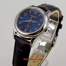 Luxurious 26mm parnis white dial 21 jewels miyota automatic womens lady watch