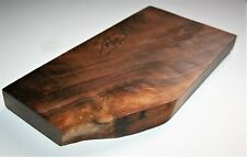 Walnut Charcuterie Cheese, Bread Board, Platter, Serving Tray Natural Live Edge