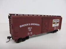 Athearn/K&D Hobby BINDERS BEER 40' Box Car KIT #106 *Limited Edition* NIB