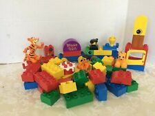 Lego Duplo Figures Train Cars with building blocks Winnie the Pooh and More