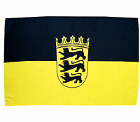 Fahne Baden Württemberg Querformat 90 x 150 cm Hiss Flagge Bundesland BRD