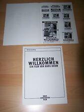 HERZLICH WILLKOMMEN - Werberatschlag ´90 - HARK BOHM