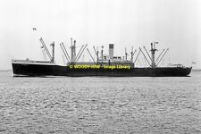 mc1696 - Iranian Cargo Ship - Cyrus II  , built 1945 ex Abbedyk  - photo 6x4
