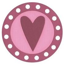 QuicKutz Lifestyle Crafts 4X4 Single Die HEART-Spotlight, Valentine's  REV-0084