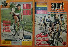 """SPORT ILLUSTRATO N° 14/ 05.APR.1956 - A NAPOLI VENDICATA LA """" SANREMO """" BARTALI"""