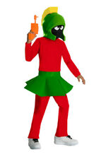 Kids Marvin The Martian Looney Toons Costume Small
