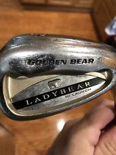 Golden Bear Lady Bear Pitching Wedge Hi Launch Ladies Flex Graphite Shaft