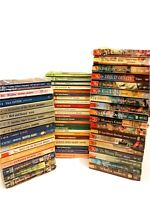 Lot of 57 VINTAGE HARLEQUIN ROMANCE Books-Historical/American/Intrigue/Super...