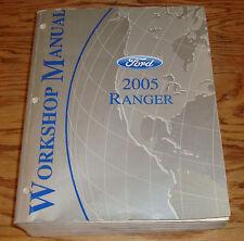 Original 2005 Ford Truck Ranger Shop Service Manual 05