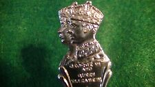KING GEORGE VI QUEEN ELIZABETH 1939 ROYAL TOUR SILVERPLATE SOUVENIR SPOON