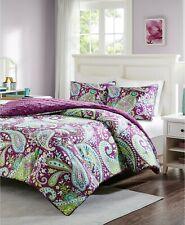 Intelligent Design Melissa Reversible 3-Pc Comforter Set - FULL / QUEEN - Purple