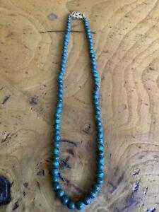 Vintage Monet Malachite Necklace
