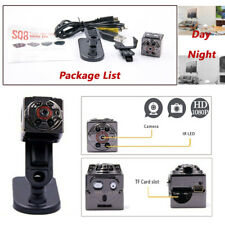 HD 1080P Mini Cam Sport DV Spy Hidden Motion Detectors Night Vision Camera SQ8